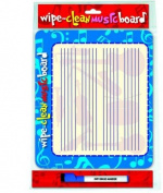Wipe Clean Music Board - Landscape Edition.