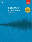 Specimen Aural Tests, Grade 7