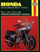 Honda CX/GL500 and 650 V-Twins 1978-86 Owner's Workshop Manual