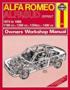 Alfa Romeo Alfasud/Sprint 1974-88 Owner's Workshop Manual