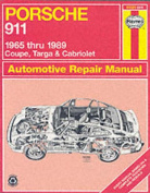 Porsche 911, 1965-89 Coupe, Targa and Cabriolet Automotive Repair Manual