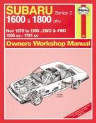 Subaru 1600 and 1800, 1979-90 Owner's Workshop Manual