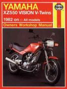 Yamaha XZ550 Vision V-twins Owner's Workshop Manual
