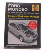 Ford Mondeo Owners Workshop Manual