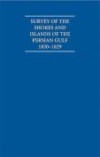 Survey of the Shores and Islands of the Persian Gulf 1820-1829 5 Volume Set Including Boxed Watercolour and Ink Views