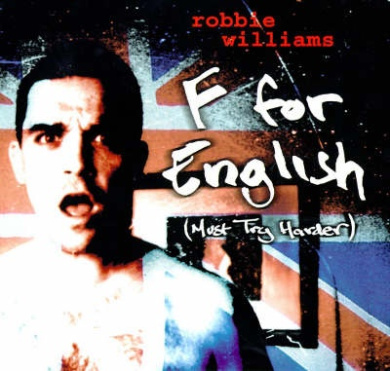 F for English: A Book of Poems and Lyrics by Robbie Williams