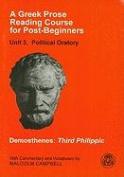 A Greek Prose Course: Unit 3: Public Oratory