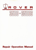 Rover 3500 & 3500s (P6) Workshop Manual