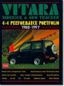 Suzuki Vitara, Sidekick and Geo Tracker 4 X 4 Performance Portfolio, 1988-97