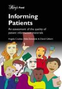 Informing Patients