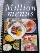 More Than a Million Menus
