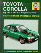 Toyota Corolla 1992-97 Service and Repair Manual