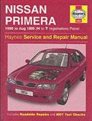 fits Nissan Primera (1990-99) Service and Repair Manual