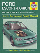 Ford Escort and Orion Service and Repair Manual