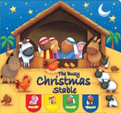 The Busy Christmas Stable