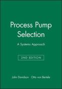 Process Pump Selection