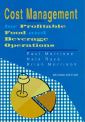Cost Management for Profitable Food and Beverage Operations