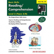 Basic Skills - Reading/Comprehension - Level 3 (Dark Grey/Black/White)
