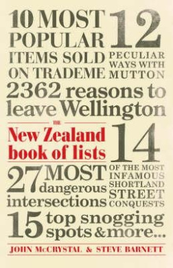 The New Zealand Book Of Lists