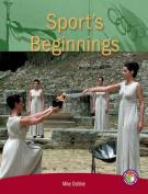 Sport's Beginnings PM Non Fiction