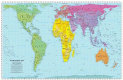 Peters World Map: Folded