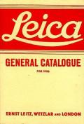 Leica General Catalogue: 1936