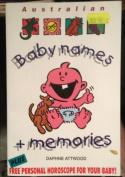 Australian Baby Names and Memories