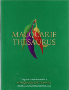 Macquarie Thesaurus