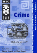 Hsc Legal Studies: Focus Study - Crime : Study Guide & Exam Preparation (Hsc Study Pack)