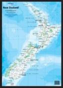 New Zealand A3 Map