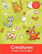 Creatures in Maori and English  [MAO]