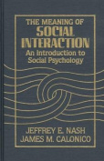 The Meaning of Social Interaction