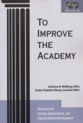 To Improve the Academy