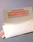 Print's Best Letterheads/Business Cards