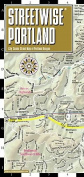 Streetwise Portland Map - Laminated City Street Map of Portland, Oregon