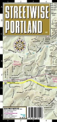 Streetwise Portland Map - Laminated City Street Map of Portland, Oregon