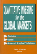 Quantitative Investing for the Global Markets