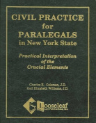 Civil Practice for Paralegals in New York State
