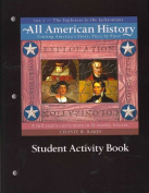 All American History Student Activity Book, Volume 1
