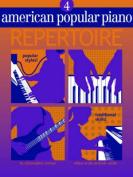 American Popular Piano Repertoire 4