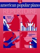 American Popular Piano Repertoire 5