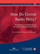 How Do Central Banks Write?