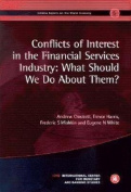 Conflicts of Interest in the Financial Services Industry