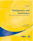 Transparency and Governance 2008
