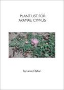 Plant List for Akamas, Cyprus