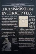 Transmission Interrupted