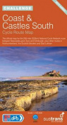 Coast and Castles South - Sustrans Cycle Routes Map