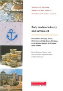 Early Modern Industry and Settlement