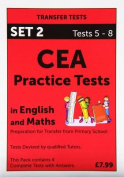 CEA Practice Tests in English and Maths