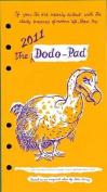 Dodo Pad Filofax-compatible Pers Org Refill Diary 2011